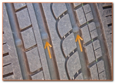 tread wear indicators